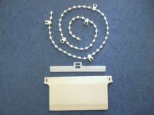 "3.5"" vertical blind kits-inc weights-chain-hangers"